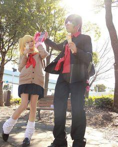 銀魂 3Z 来島また子  バレンタインの日に晋助様とデートしてきたっす チョコ渡してきたっす  On a day of a Valentine's Day I was dating ShinSuke in the school way back. Chocolate could also be handed safely!  高杉晋助hisata PhotoAnonymous request  #銀魂 #3Z #Gintama #Anime #公式学パロ #高杉晋助 #takasugishinsuke #来島また子 #kijimamatako #放課後デート #date #love #ValentineDay #どう見ても私が90年代のギャルな件 #BBAのセーラー服とか需要があるはずない #若作り選手権開催中 #GintamaCosplay #コスプレ #cosplay #mycosplayphoto #cosplaymodel #cosplaygirl #cosplayer #myself #me #Instacosplay #Instamemories…
