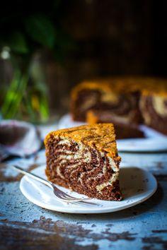 Zebra Cake | DonalSkehan.com, A surprisingly quick and impressive cake