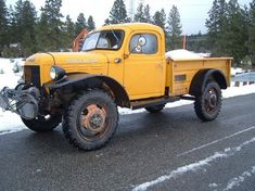 VWVortex.com - 1966 Dodge Power Wagon + modern Cummins motor