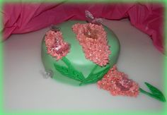 EDIBLE BUTTERFLY CAKE