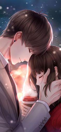 Couple cartoon, cute anime couples, romantic love couple, anime cupples, an