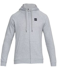 a904089fba Under Armour Men s Fleece Zip Hoodie - Gray Small