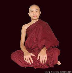 At Pa-Auk-Taw-Ya Monastery south of Mawlamyaing, Myanmar