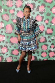 efd024b5 Lupita Nyong'o Photos Photos: KENZO x H&M Launch Event Directed by Jean-Paul  Goude' - Arrivals