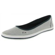 LACOSTE Marthe 5 Slip On Seersucker Flats Womens Shoes (Apparel)  http://fro.kitchencookproduct.com/fro.php?p=B006JSGCEA  B006JSGCEA