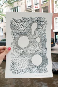 A4 / original pen drawing / Everything is connected by marenbruin