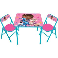 Disney Doc McStuffins Activity Table Set