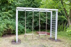 Pergola At Home Depot Diy Pergola, Cheap Pergola, Backyard Playground, Backyard For Kids, Garden Spaces, Lawn Care, Front Yard Landscaping, Curb Appeal, Future House