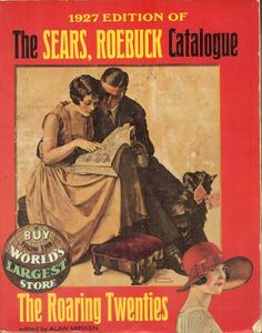 Antique Books and Old Collectible Things: 1927 Sears Roebuck Catalogue, Flapper Belts & Buckles (Reproduction Edition)