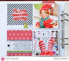 Countdown To Christmas 1 @pinkpaislee @lovestoscrap123 #pinkpaislee #ppmerryandbright #countdowntochristmas