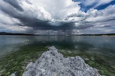 https://flic.kr/p/AytUs1 | Mono Lake Lightning Strike | On the west shore of Mono Lake looking eastward.
