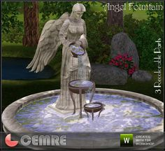 sims fountain - Google Search