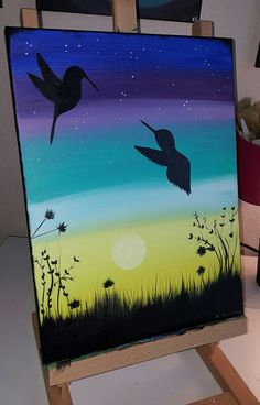 Check out this item in my Etsy shop https://www.etsy.com/listing/268951843/12x16-canvas-acrylic-painting