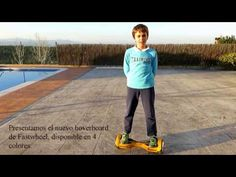 Primeros pasos con el Hoverboard de Fastwheel - YouTube