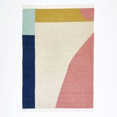 Alfombra tejida en plano estilo kilim de lana, Ankara La Redoute Interieurs: precio, comentarios y disponibilidad.  Características de la alfombra de tejido plano kolim de lana Ankara80% lana, 20% algodón, 1300 g/m².Tejido plano. Tejida a mano.Acabado con flecos. Descubre toda la colección de alfombras en laredoute.es.Dimensiones de la alfombra de tejido plano kilim de lana, AnkaraTamaño 1: 120 x 170 cm.Tamaño 2: 160 x 230 cm. Dimensi...