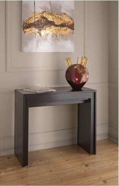 gardinistore.it - tavolo consolle Pinocchio, Misure in centimetri: L.90 P.42,5 (94,5/146,5/198,5/250,5/302,5) H.76; Disponibile nero, bianco o grigio.