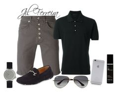 WEEKEND by gilka-ferreira on Polyvore featuring Alexander McQueen, Dondup, Giorgio Armani, MIANSAI, Ray-Ban, Native Union, Anthony, men's fashion and menswear