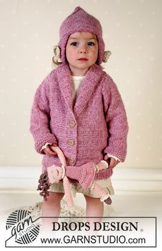 Jacket, hat, soft toy and blanket in Alpaca