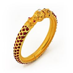 GRT | Collections | Antique and Ethnique | Bangles | Traditional south indian kadaas