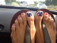 Patriotic nails!!