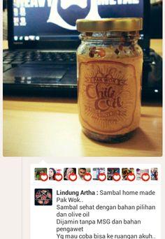 Chili Oil Pak Wok, sambal sehat, sambal nikmat  http://twoqu.com/chili-oil-pak-wok/