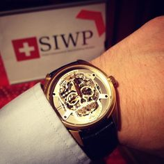 First day at the Swiss Independent Watchmaking Pavilion! Join us at the Casino du Lac in until January