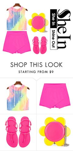 """Senza titolo #114"" by blueviolette on Polyvore featuring moda, Eloqueen, Havaianas, Jeremy Scott e yoinscollection"