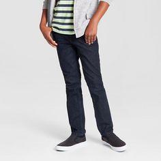 Boys Size 8 - Skinny Fit Jean Dark Rinse Wash - Cat &Jack™ : Target