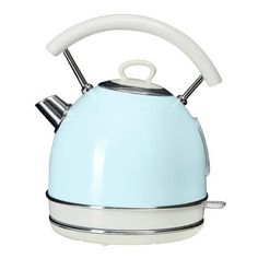 Candy Rose Collection 1.7L Duck Egg Kettle | Dunelm