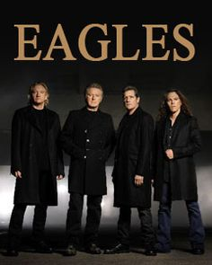 Eagles are such an amazing band with several styles of music and still together, albeit a brief absence, and rocking all these years. I love all their music from driving rock styles of Joe Walsh to Pop Ballad to earlier country influence.