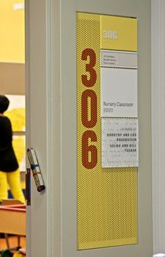 Signage is a great way to brighten up any space in the most useful way possible! (People visiting will thank you!)
