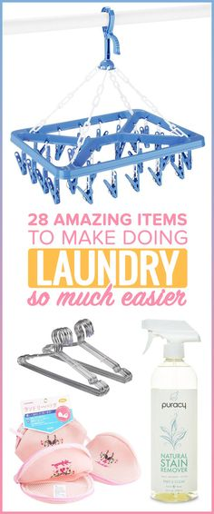 28 Amazing Items To Make Doing Laundry Easier