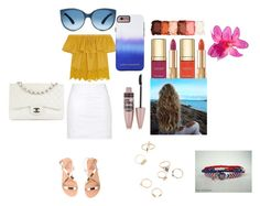 """""""Hanging out"""" by jasmineedrington on Polyvore featuring Madewell, Topshop, NYX, Dolce&Gabbana, Maybelline, Rebecca Minkoff, Ancient Greek Sandals and Chanel"""
