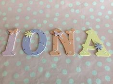 Wooden Name Plaques, Wooden Names, Wall Plaques, Window Signs, Wall Signs, Bedroom Bunting, Painting Wooden Letters, Free Standing Letters, Wooden Alphabet