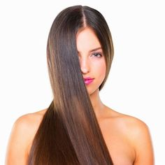 How to straighten hair naturally without heat!