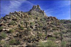 Pinnacle Peak Park, Scottsdale, Arizona, USA---Loved hiking here