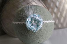 Newborn Tieback headband  Tieback headband by DESERTROSECOUTURE, $6.00