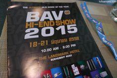 Bangkok Hifi AV show 2015 coverage Part 1!