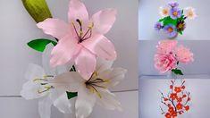 Flower Crafts, Diy Flowers, Fleurs Diy, Ribbon Flower, Super Easy, Unique, Fabric, Handmade, Craft Ideas