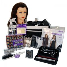 Image 1 - Basic Cosmetology School Student Kit for Hair Styling and Cutting by…