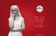 Droste campaign: Lady Gaga by Huub van Osch #vOSCH #huubvanosch #blahblahism #amsterdam #Droste