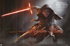 star wars photoshop kid kylo ren
