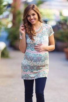 PinkBlush Maternity Printed Tops - 5 styles!