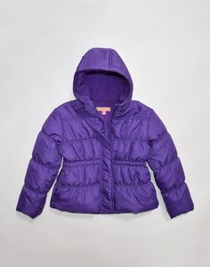 chinky minky toddler girl bubble hooded jacket Case of 24