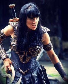 Xenia Warrior Princess, Princess Videos, Warriors Game, Female Warriors, Princess Star, Xena Warrior, Woman Warrior, Fantasy Tv, Old Movie Stars