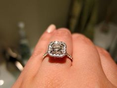 I love this ring! Found on Weddingbee.com Share your inspiration today!