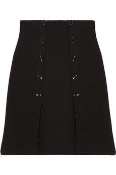 Alexander McQueen Wool-crepe skirt | NET-A-PORTER