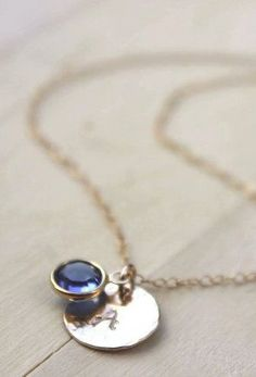 Personalized Bridesmaid Necklace