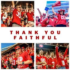 """""""Thank you #Faithful for your support throughout the 2014 season."""""""