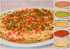 Domestic Charm: 7 Layer Dip